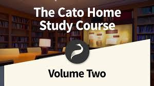the cato home study course vol 2 john locke u0027s two treatises of
