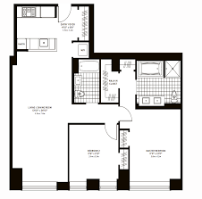 two bedroom floor plan the clarendon condos for sale back bay boston ma real estate
