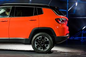 orange jeep 2016 2017 jeep compass first impressions
