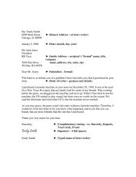 Business Letter Return Address business letter template clever hippo