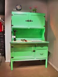 Antique Green Kitchen Cabinets 122 Best Hoosiers Bakers Cabinets Images On Pinterest Antique