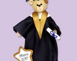 Personalized Graduation Teddy Bear Graduation Bear Etsy