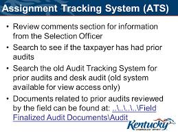 Desk Audit Corporation Auditor Training Ppt Download