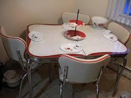 chrome dining room sets 23 red dinette sets vintage kitchen treasures retro renovation