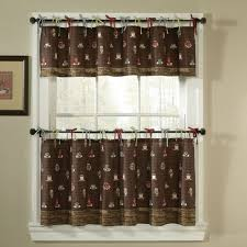 Tuscan Style Curtains Ideas Coffee Themed Kitchen Decor Curtains Our Home Pinterest