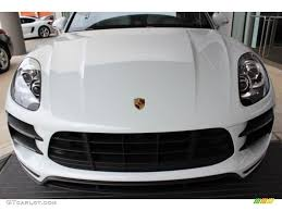 porsche macan agate grey 2016 carrara white metallic porsche macan turbo 108083541 photo