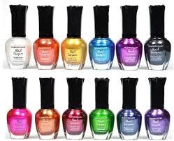 amazon com kleancolor nail polish awesome metallic full size
