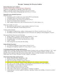 On The Job Training Resume by Human Resources Cover Letter 1 And Resume Sales And Leadership Added