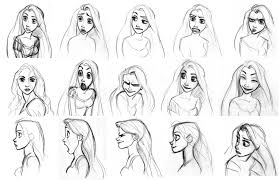 character and creature design notes disney s tangled character