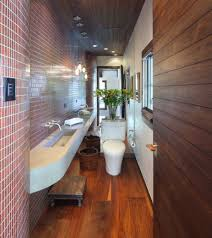 long narrow bathroom ewdinteriors