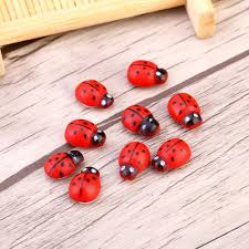 Ladybug Bathroom Towels Cute Diy Wooden Ladybug Stickers 100 Pcs U2013 Cutestop