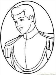 cinderella prince charming coloring pages printable kids 23288