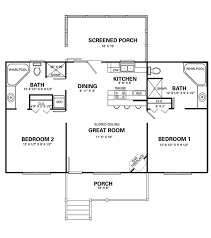 2 bedroom cottage plans two bedroom cottage floor plans homepeek