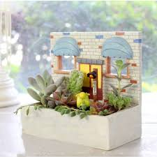 succulent house online shop biscuit house coffee house dessert house design flower