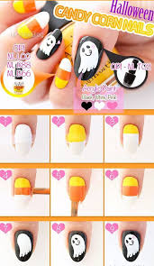 nice 20 easy step by step halloween nail art tutorials for