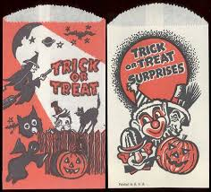175 best halloween vint trick or treat bags images on pinterest