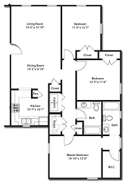 apartment floor plans with dimensions erie station village rochester ny apartment floorplans