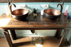 Delta Victorian Bathroom Faucet by Dazzling Rustic Bathroom Sink Bowls From Hammered Copper Sheets