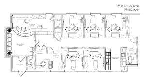 Floor Plan Business Office Design Office Plan Interior Office Interior Design Plans