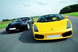 ferrary driving and lamborghini driving blast from buyagift