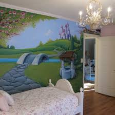 girls fairy tale mural a little more detail than i feel girls fairy tale mural a little more detail than i feel comfortable taking on but