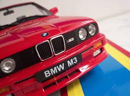 bmw e30 model car bmw m3 e30 in scale 1 18 evolution johnny cecotto by autoart model