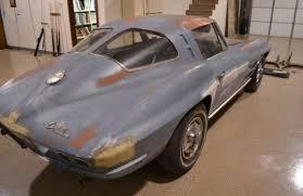 1963 corvette project car for sale split window survivor 1963 corvette sting