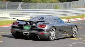 koenigsegg agera r 2019 koenigsegg agera r u0027development car u0027 spied on nürburgring