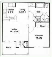 one bedroom one bath house plans 1 bedroom apartment floor plans pdf nrtradiant com