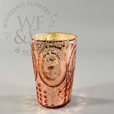 Wholesale Fleur De Lis Home Decor by Fleur De Lis Votive Cup Rose Gold Wholesale Flowers And Supplies