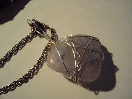 How To Make Jewelry Out Of Wire - rock necklace how to make a wire wrapped pendant wirework on