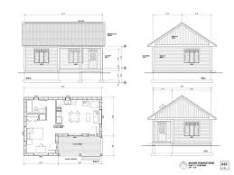 cabins plans dining room one room cabins plans