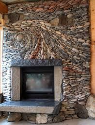 stone fireplace beautiful stone fireplace