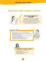unidades y sesiones de aprendizaje comunicacion minedu rutas unidad 3 sesiones tercer grado 2015