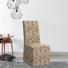 Sure Fit Dining Chair Slipcover Sure Fit Slipcovers Chair Sure Fit Scroll Dining Room Chair