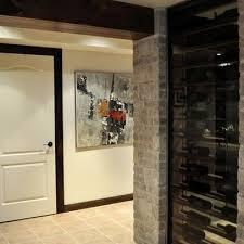 dark wood trim interiors design