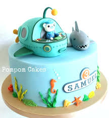 octonauts cake toppers octonauts cake topper figures edible fondant by princess toppers