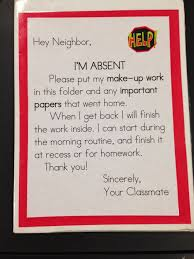 best 25 absent student work ideas on absent students