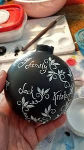 Personalized Ornaments Wedding Words Hand Painted Ornament Inspirational Personalized Ornament
