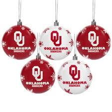 oklahoma sooners christmas decorations oklahoma holiday decor