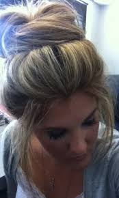 big bun hair big hair bun tutorial foto