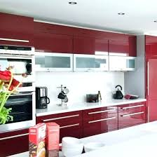 contemporary red kitchen cabinet u2013 choosepeace me