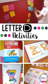 letter d activities sara j creations