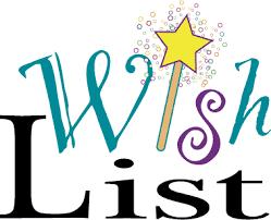 wish list wish list