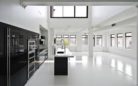 black and white kitchens ideas popular white and black kitchen with black floor my home design