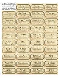 kitchen canister labels spice labels templates endo re enhance dental co