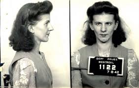 prohibition style hair mug shots of montreal prostitutes from 1940s album on imgur