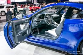new lexus rcf interior a closer look at the lexus rc f lexus enthusiast