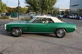 1969 camaro rs ss convertible 1969 chevrolet camaro rs ss convertible 162360