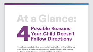 trouble following directions tips to help grade schoolers adhd